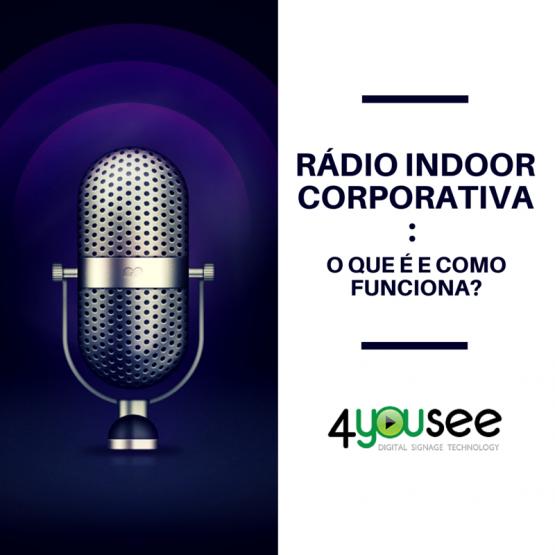 Rádio Indoor Corporativa-