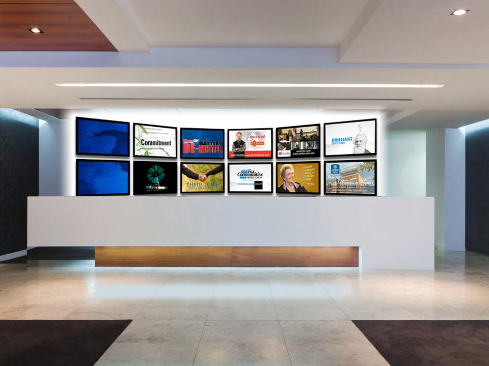 Painel de TV Corporativa