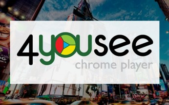 4YouSee Chrome player para Google Chrome