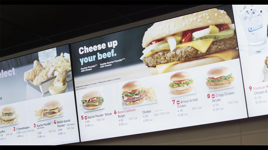 investir em menu board digital