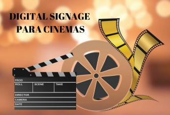 DIGITAL SIGNAGE para cinemas