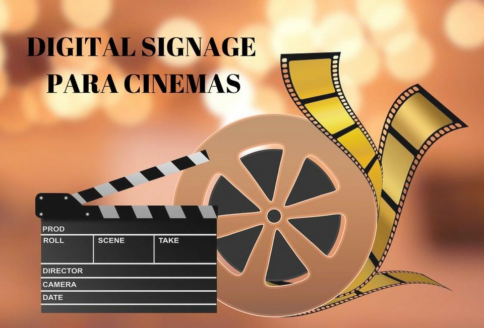 DIGITAL SIGNAGE para cinemas