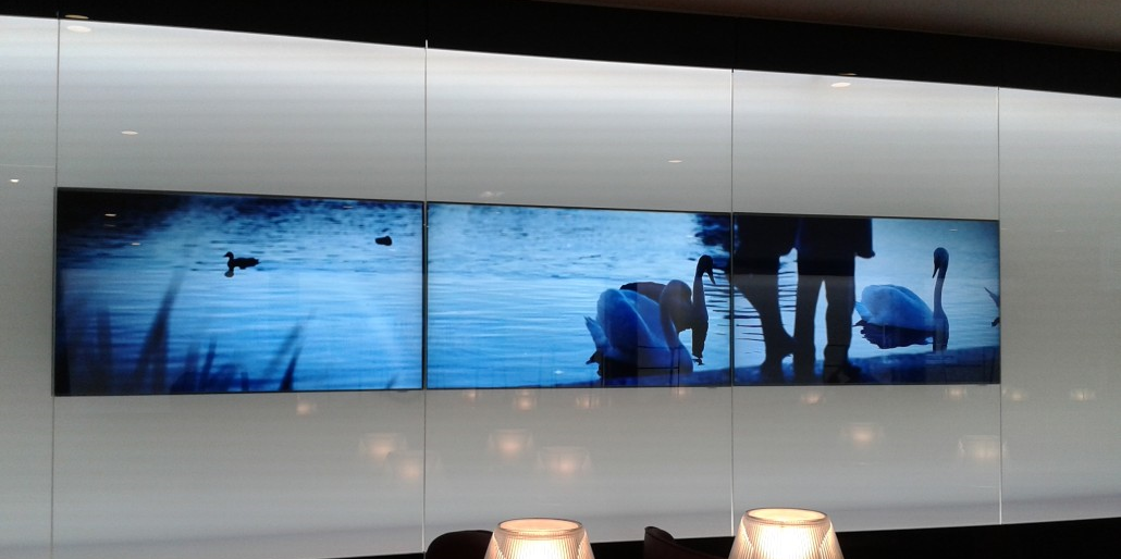 Video wall landscape (paisagem)