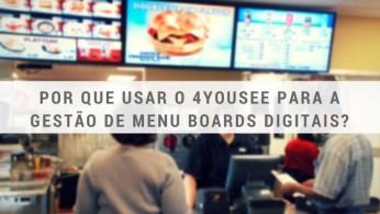 menu board digital
