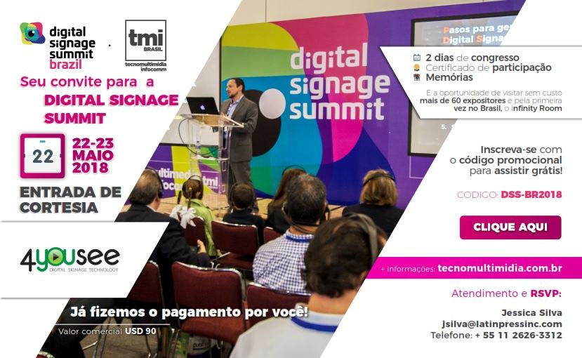 convite 4yousee digital signage brazil 2018 infocomm brasil 2018_001_mini