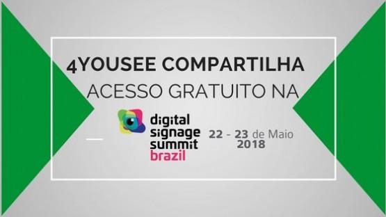 Muito aprendizado para você no Digital Signage Summit da InfoComm Brasil 2018 - e de graça!