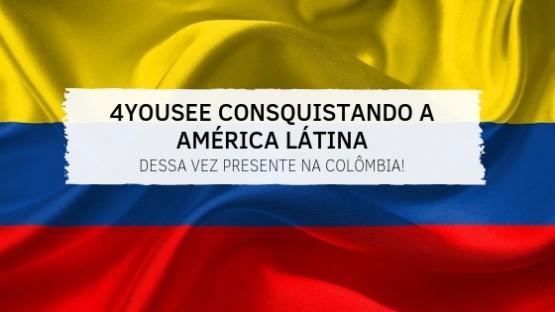 4YouSee conquistando a América Latina - dessa vez presente na Colômbia!