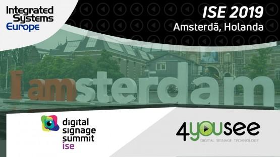 A 4YouSee chega na Holanda, dessa vez participando de um painel sobre sensores na ISE!