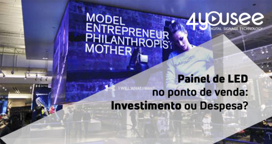 Painel LED investimento